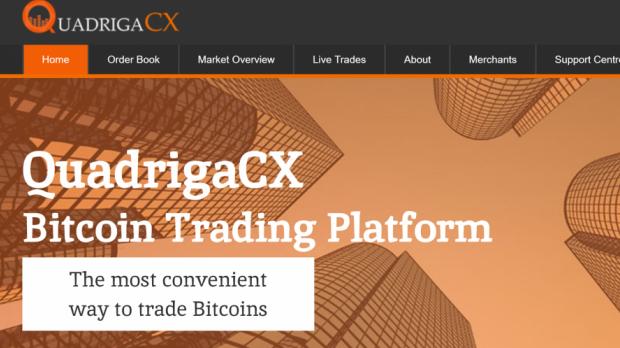 QuadrigaCX was Canada's largest crypto exchange.