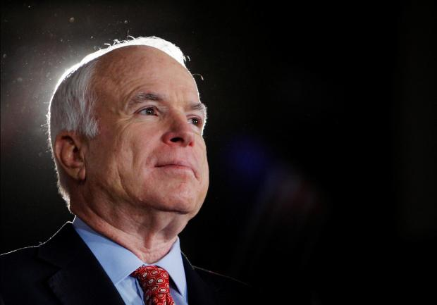 Senator McCain clashed openly with president Trump. Photo: Reuters