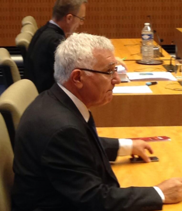 Mr Dalli in the Luxembourg court today.