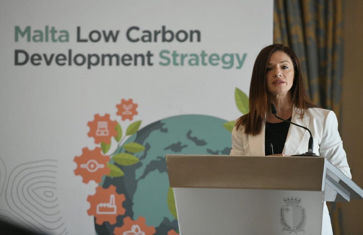 Energy minister Miriam Dalli Photo: Matthew Mirabelli