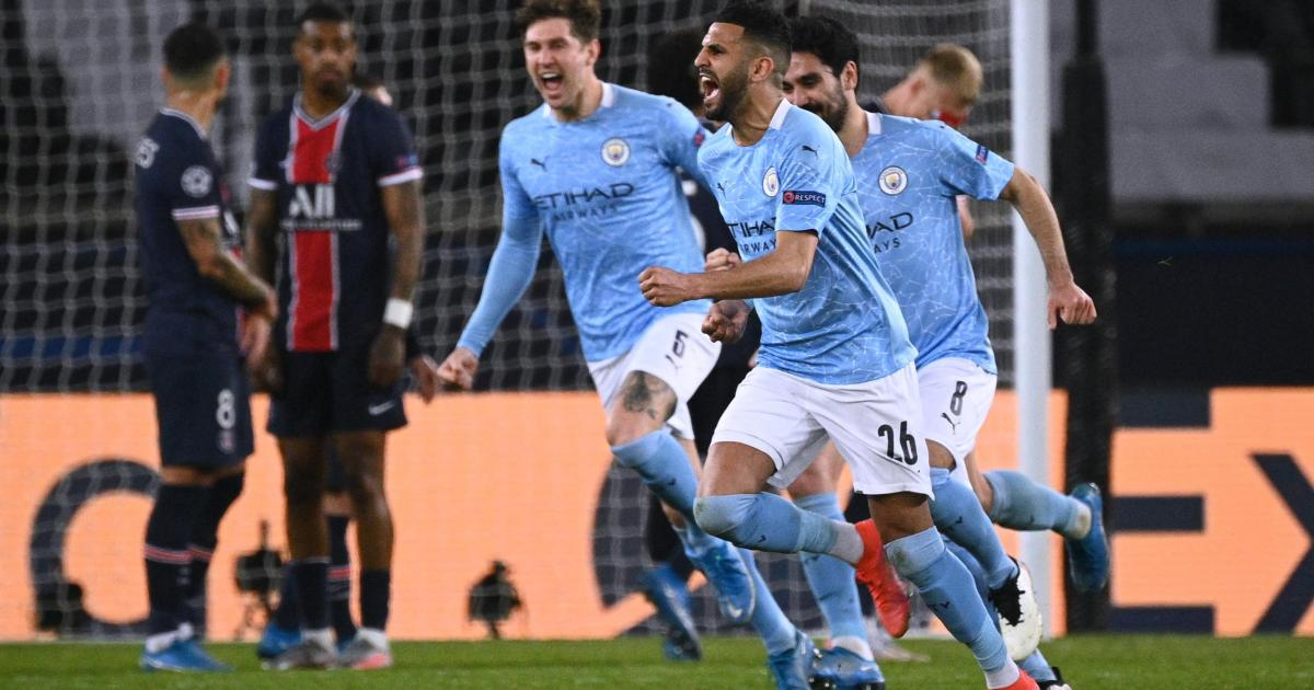 Man. City come from behind to beat 10-man PSG in UCL semi-final