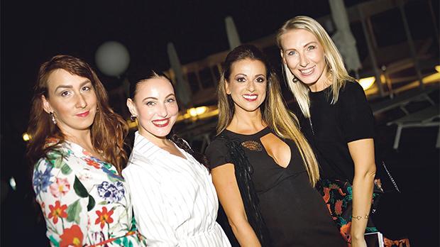 Tatiana Marekova, Zuzana Medvedova,Grazielle Camilleri and Pavli Medvedova.