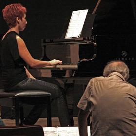 Tricia Dawn Williams and Giorgio Nottoli.
