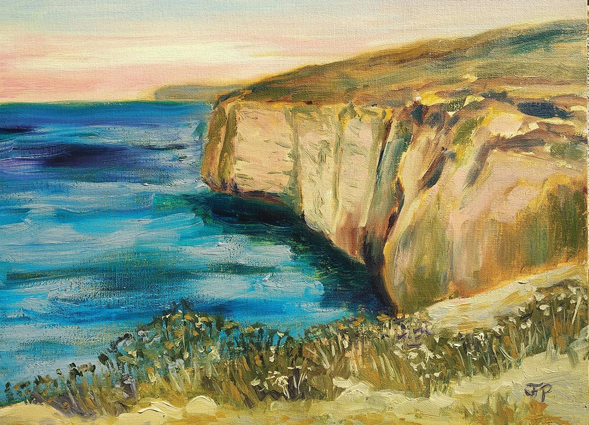 West Coast Sunset by Joanne Fenech Portelli