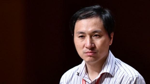 Researcher He Jiankui.