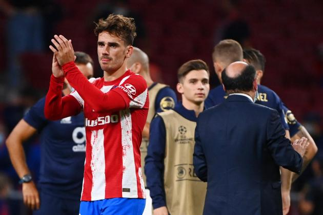 Mixed reception for Griezmann as Atletico given late scare by Porto