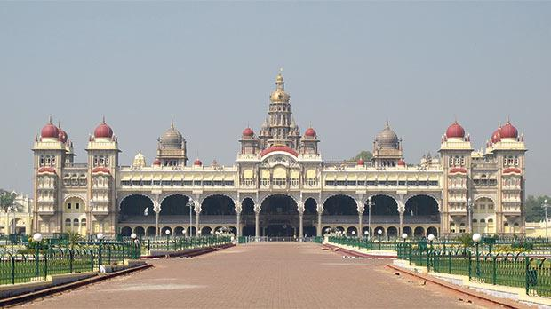 The Royal Palace, Mysore, India. Photo: Mark-Anthony Falzon