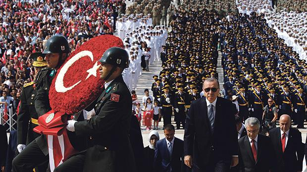 Turkey has hundreds of billions in outstanding foreign debt, a significant proportion held by euro area banks. Photo: Reuters
