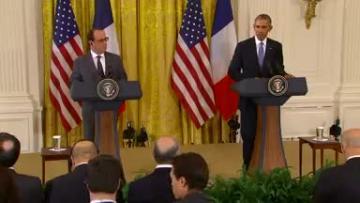 Obama: U.S., France stand united against Islamic State, terrorism