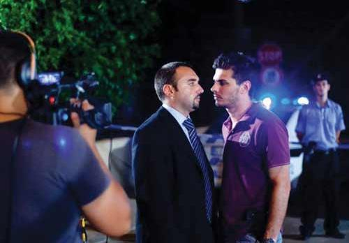 Rennie Schembri (left) and Heinrich Camilleri star in the thrilling police drama series Dellijiet. The programme, screened on TVM every Tuesday, is one of the many programmes which may be nominated for the awards.