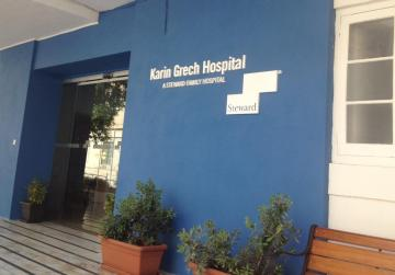 New reception area at Karin Grech Hospital