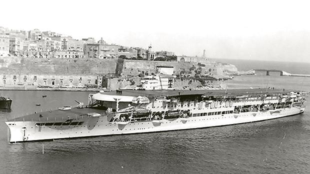 HMS Glorious in Grand Harbour. Photos provided by Salvu Azzopardi