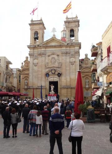 Traditional processions celebrate easter processions with statues of the risen lord were held all over malta and in gozo this morning as easter was celebrated in the traditional maltese way negle Gallery