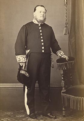Olof Frederik Gollcher, photographed by Leandro Preziosi. Photo: Swedish National Archives