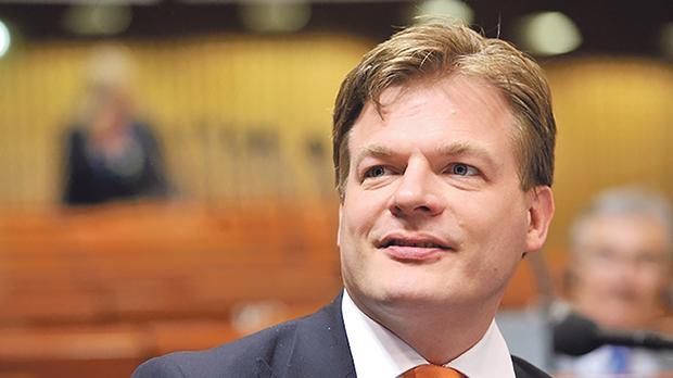 Dutch MP Pieter Omtzigt