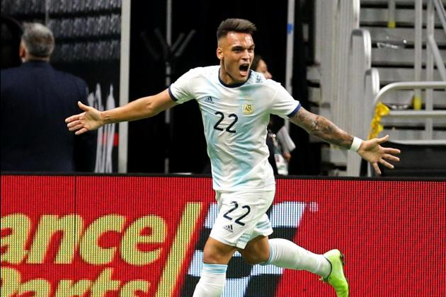 Watch: Martinez hat-trick fires Argentina over Mexico