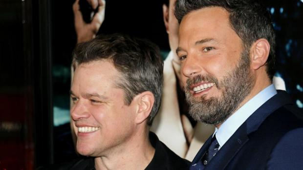 Matt Damon and Ben Affleck, Shutterstock