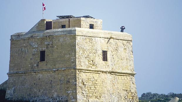 Dwejra boasts a coastal watchtower built by the Knights of St John.