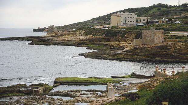 """The environmental watchdog singled out the coast of Xgħajra as the only viable location for a """"major"""" land reclamation project. Photos: Jonathan Borg"""