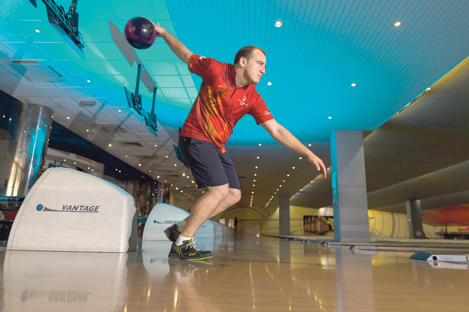 Philip Gruppetta is a Special Olympics Malta bowler who has just ranked 20th among 72 bowlers from all around the world. He works with the Armed Forces of Malta.