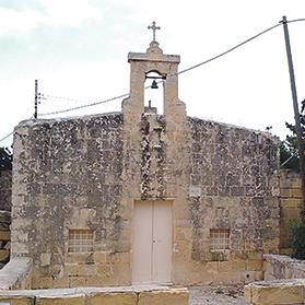 The Chapel of St Mary of Ħal Tmin.