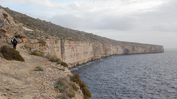 Mtaħleb cliffs. Photo: Antoine Muscat
