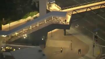 Security raised at LA rail line after threat warning from foreign country
