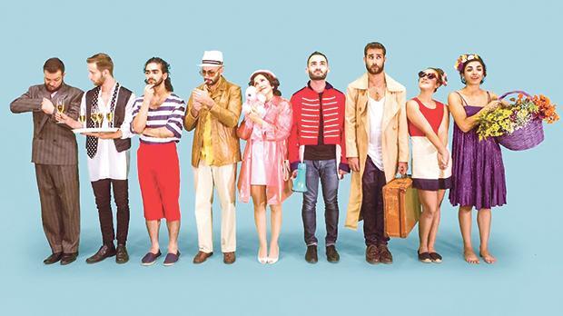 The cast of Boulevard. Photo: Elisa von Brockdorrf