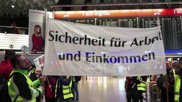 Hundreds of flights axed as fresh strike hits German airports