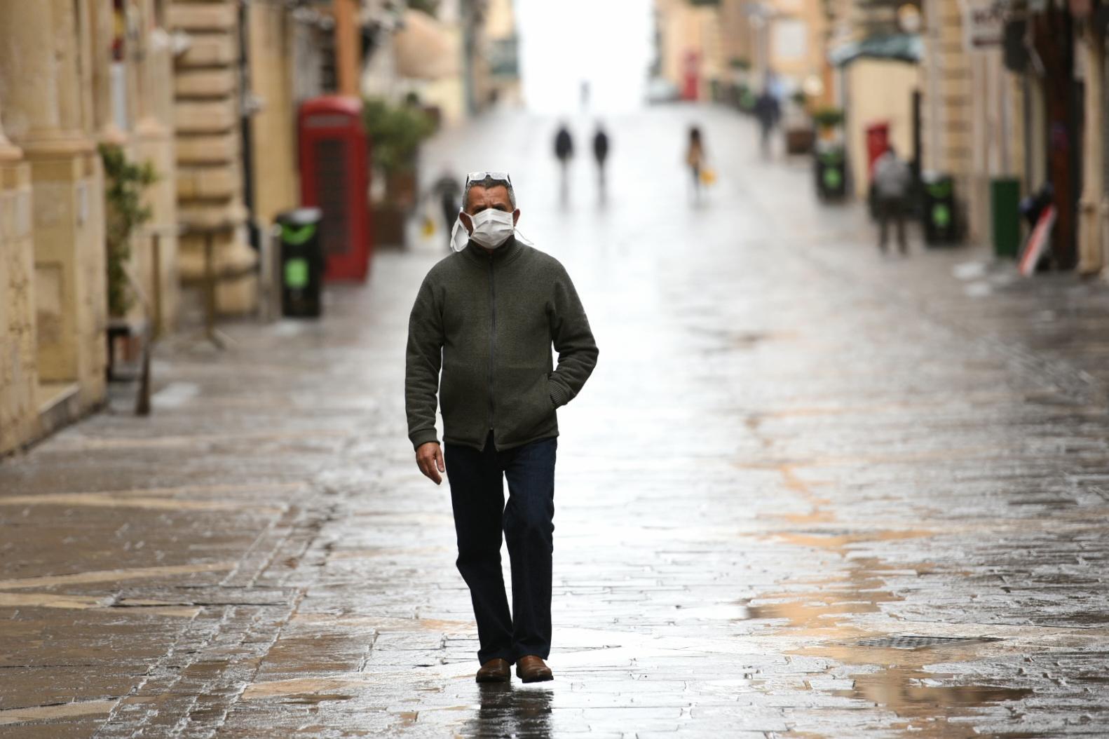 Republic Street in Valletta on Wednesday. Photo: Chris Sant Fournier