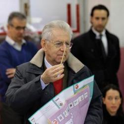 Early results showed outgoing Prime Minister Mario Monti fared badly at the polls. Photo: Reuters
