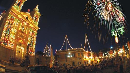 Image result for malta village feasts