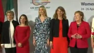 Ivanka Trump joins Merkel, Lagarde at Berlin women's summit