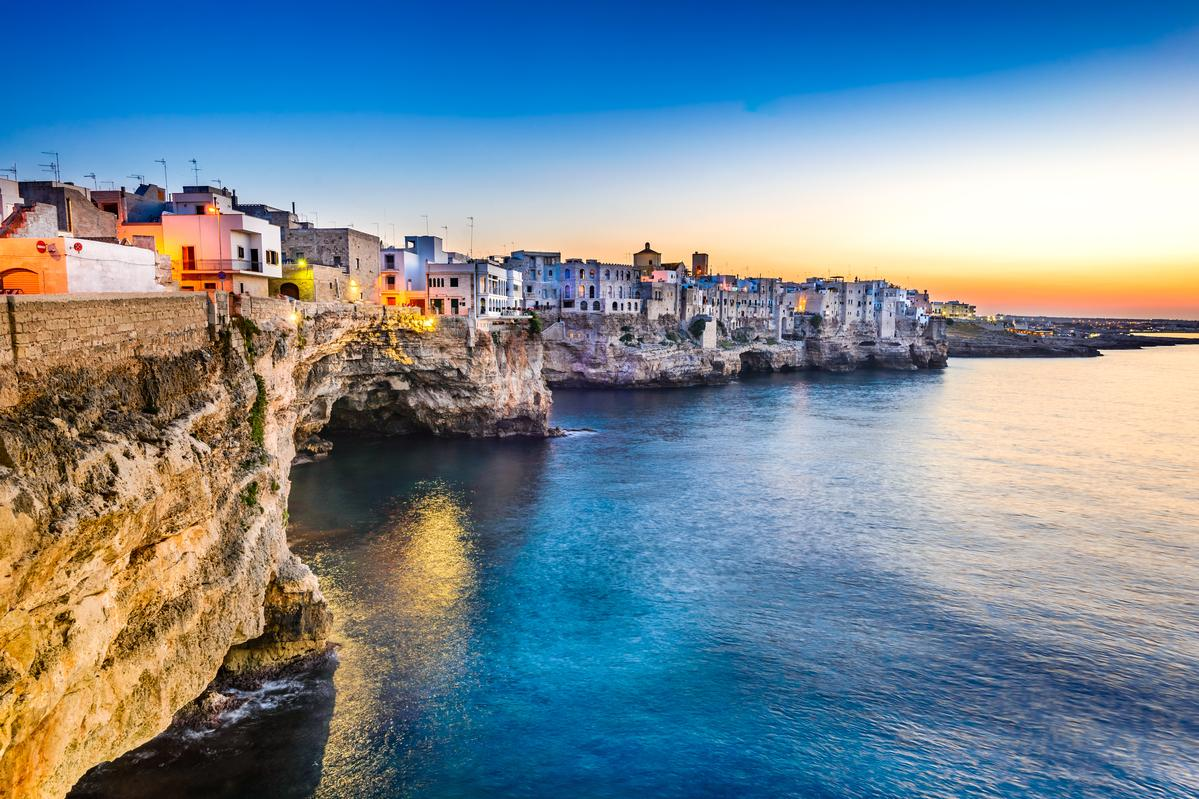 Martina and Clint are on holiday in Puglia and were due to return to Malta on Thursday but flights have been stopped. Photo: Shutterstock