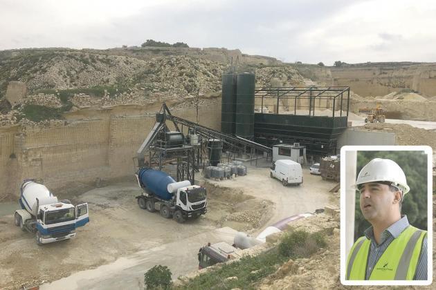 17 illegal concrete plants in Malta - PA considers amnesties