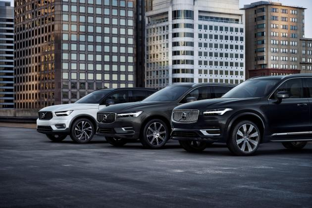 SUV success drives Volvo Cars to sixth straight sales record