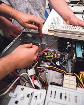 Among Mcast's new courses in 2018-9 is an Advanced Diploma in Industrial Electronics.