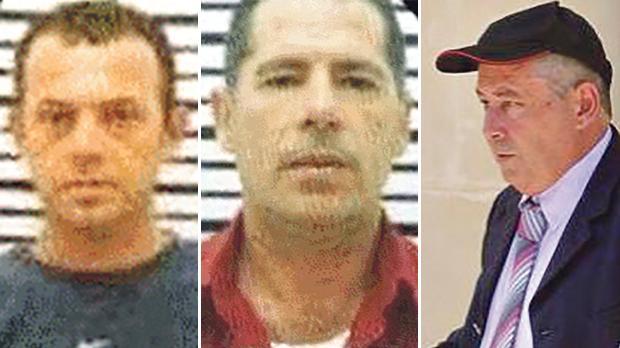 Alfred Degiorgio (il-Fulu), his brother George (iċ-Ċiniz) and Vince Muscat (il-Koħħu). They will stand trial for the murder.