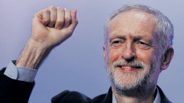 Image result for corbyn looking smug