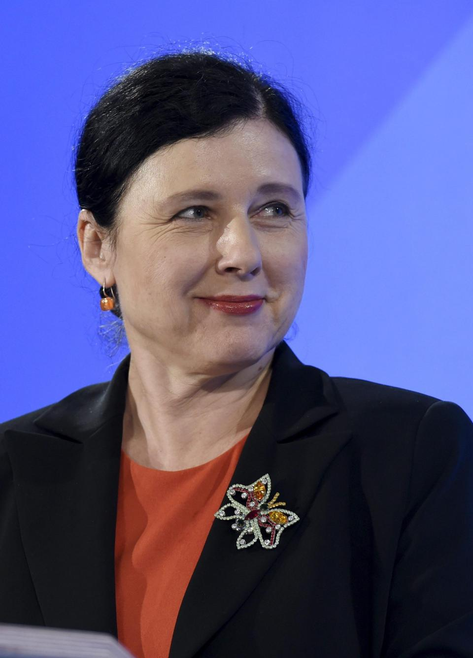 Věra Jourová will now serve as a commission vice-president within the von der Leyen commission. Photo: AFP