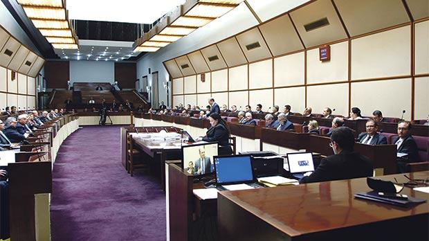 The old Parliament chamber in session in 2013. Photo: Darrin Zammit Lupi