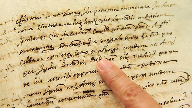 Letto e albergo: This document for a room rental in a Vittoriosa hostel is the earliest known of its kind.
