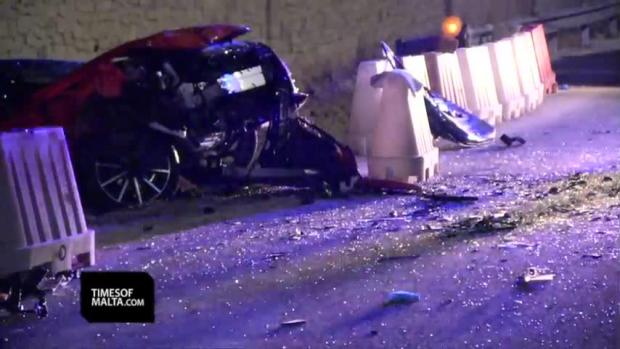 Watch: Mother and daughter killed, seven injured in horrific car crash