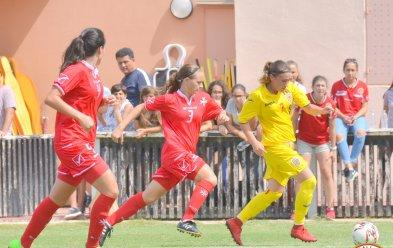 Malta held Romania to a 3-3 draw. Photo: Joe Borg/MFA
