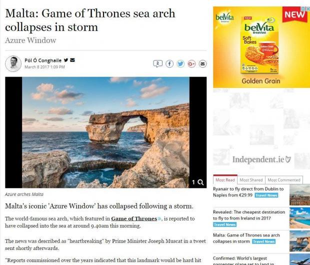 The Irish Independent.