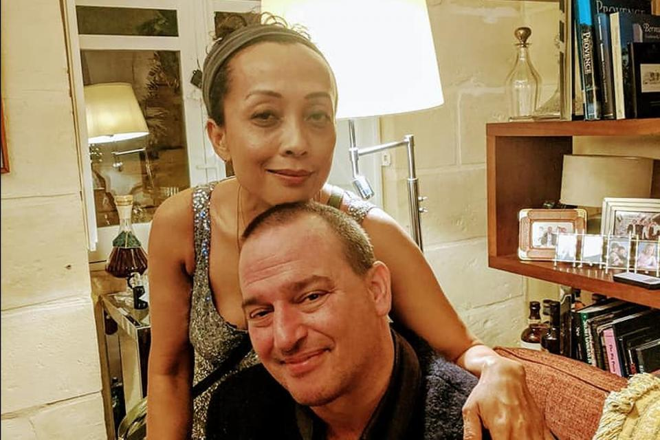 Clemens and his wife Noni. Photo: Facebook