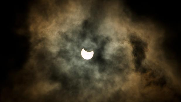 Solar eclipse. Photo: Charlot Scicluna