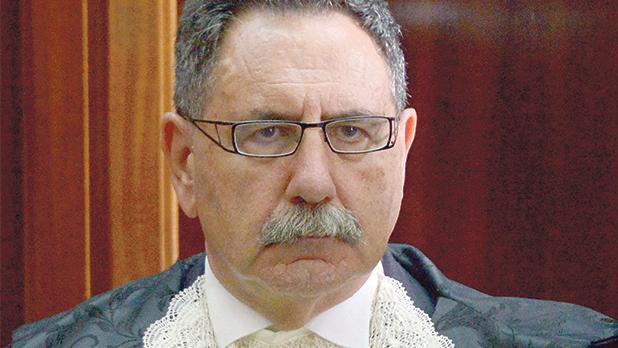 Mr Justice Antonio Mizzi.