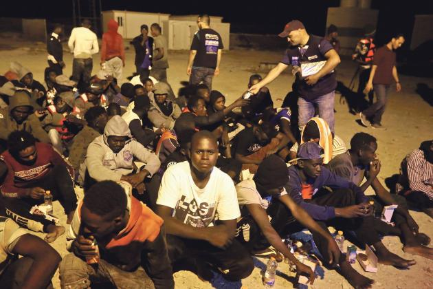 Surge in migrants fleeing Libya, PM told
