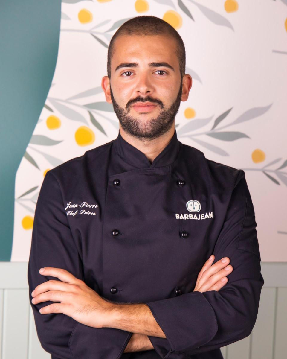 Barbajean chef-patron Jean Pierre Dingli